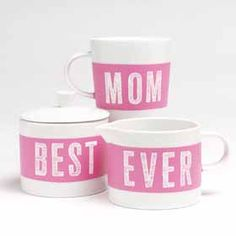 Hand-Painted Coffee Set for Mom
