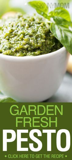 You must have this Garden Fresh Pesto Recipe!!!!! This is so yummy :)