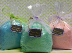 All Natural Bath Salts with 100 pure essential oils by LavishbyCK, $7.50