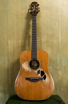 I love Glen Hansard's guitar.  It reminds me to make the best of what I have.  Newer isn't always better.