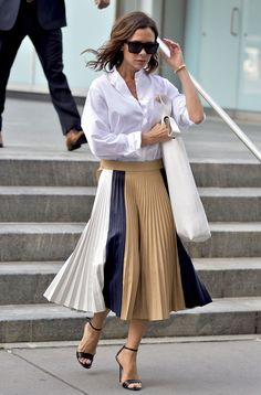 A midi skirt - HarpersBAZAAR.com