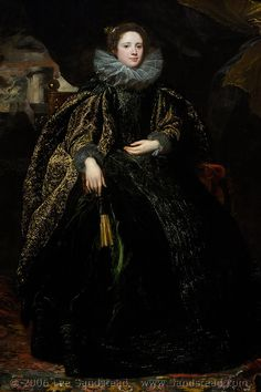 Portrait d'une femme, Anthony Van Dyck