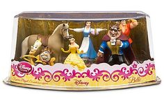 AmazonSmile: Disney Exclusive Beauty and the Beast 6 Piece PVC Figurine Playset: Toys & Games