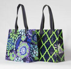 Hometown Victory Girls: Reusable Shopping Bag Tutorial | Sewing ...