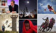 Spanning the human cost of air strikes in Syria and the refugee crisis, child jockeys, forest fires and Boris Johnson taking a tumble, here are the most incredible images that agency photographers sent to our picture desk this year
