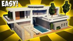 - Minecraft: How To Build A Large Modern House Tutorial ( minecraftstream.c… – Minecraft: How To Build A Large Modern House Tutorial ( minecraftstream.c… – Minecraft: How To Build A Large… - Villa Minecraft, Minecraft Modern Mansion, Casa Medieval Minecraft, Minecraft World, Cute Minecraft Houses, Minecraft House Tutorials, Minecraft Plans, Minecraft Houses Blueprints, Minecraft Room