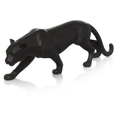 This striking panther ornament from George Home features a bold design that will complement your home décor. Crafted from resin, it's the purrfect option for. Panther, Home Accessories, Lion Sculpture, Home And Garden, Statue, Ornaments, Design, Decor, Art