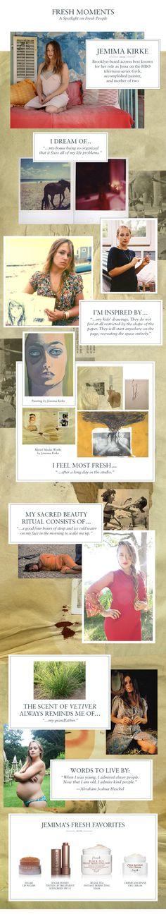 Fresh - Jemima Kirke Fresh Moments