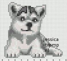 Cross Stitch Embroidery, Cross Stitch Patterns, Beading Patterns, Crochet Patterns, Pixel Art Grid, Perler Bead Templates, Cross Stitch Animals, Pony Beads, Brick Stitch
