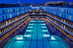 Conceived as a public swimming complex in 1929, Paris's Piscine Molitor was a popular hangout for the city's fashionable set until it shuttered in 1989. A group of design firms were commissioned to reimagine the historic site, which reopened last year as the Molitor hotel. Architect Jacques Rougerie renovated both the indoor and outdoor pools, being sure to preserve their iconic Art Deco flair. From $281/night; mgallery.com
