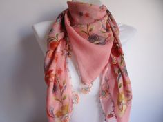 Turkish Yemeni OYA Scarf bridalscarfauthentic romantic by bypasha, $25.00
