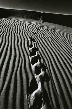 Jeanloup Sieff - Death Valley California, 1977