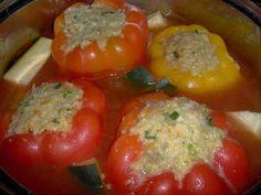 Papryka faszerowana a'la gołąbki