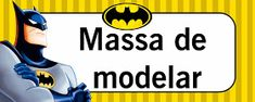 Montando minha festa: Etiquetas escolares - Batman Batman, Disney Characters, Fictional Characters, Company Logo, Logos, Kit, Party, Adhesive, Ideas