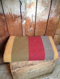 Pendleton blanket, unusual earth tones