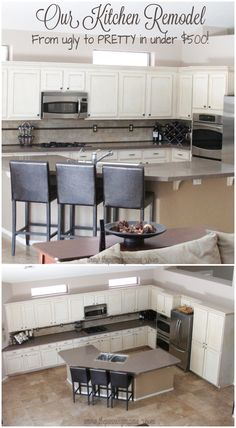 Inexpensive ways to make a HUGE impact in your kitchen remodel