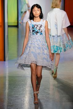 Peter Pilotto Spring 2014 Runway Pictures - StyleBistro