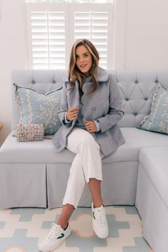 Don't Miss These Nordstrom Exclusive Gal Meets Glam Collection Coats - Gal Meets Glam Preppy Mode, Preppy Style, My Style, Classy Style, Blue Fashion, Look Fashion, Fashion Outfits, Fashion 2020, Fashion Styles