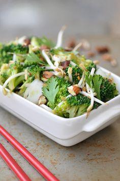 Anja's Food 4 Thought: Asian Broccoli Salad