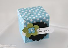 Stampin Up Anleitung Tutorial Magic Box Verpackung Goodie Give A 049