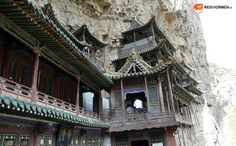 You can explore many levels of the Hanging Monastery in Datong, China.
