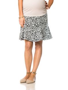 Drew Secret Fit Belly(r) Fit And Flare Maternity Skirt