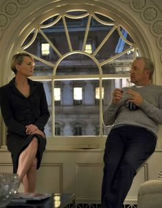 Chasing Spacey • robinwrightwebsite: Robin Wright & Kevin Spacey...