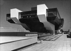 Olympic Yachting Centre, Estonia, Tallinn built between 1975-1980 Architect: Avo-Himm Looveer, Henno Sepmann, Peep Jänes, Ants Raid