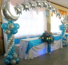 1000 images about wedding quince decor ideas on for Balloon decoration ideas for a quinceanera