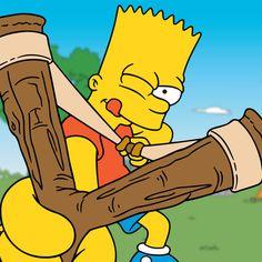 bart simpson - Google zoeken Simpsons Drawings, Simpsons Art, Bart Simpson, Simpson Wallpaper Iphone, Cartoon Wallpaper, Dragon Tattoo Drawing, Simpsons Characters, Boy Illustration, Anime