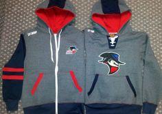 Custom hoodie for Brooks Bandits @GitchSW Facebook - Gitch Sportswear