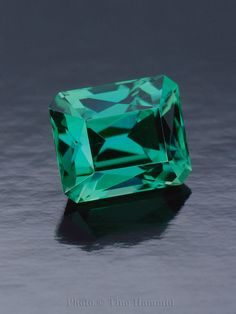 Green Tanzanite courtesy of Pala International and featured in Modern Jewelers Gem Profiles The First 60 featuring the photography of Tino Hammid.