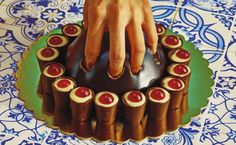 Art + Commerce - Artists - Photographers - Maurizio Cattelan and Pierpaolo Ferrari - Editorial Marie Claire, Editorial, Art Commerce, Marmite, Contemporary Photographers, Creative Food, Chocolate, Food Design, Summer Girls