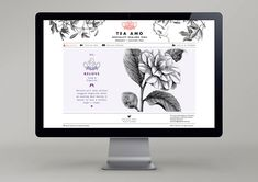 Tea Amo - The Dieline -