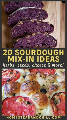 Come get inspired with 20 fun and flavorful ideas for sourdough add-ins - including goodies to mix into your dough or add as toppings to focaccia. Tips on how to incorporate herbs, nuts, cheese, garlic and more! Sourdough Pancakes, Sourdough Pizza, Sourdough Recipes, Savory Breakfast, Breakfast Bowls, Breakfast Ideas, Diy Whipped Cream, Make Ahead Brunch, Brunch Casserole