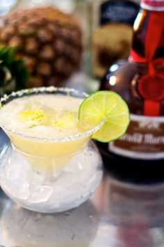 Pineapple Infused Margarita | Cocktail Recipe