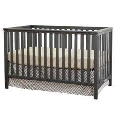 Stork Craft Hillcrest Fixed Side 4-in-1 Convertible Crib. Image 1 of 2.