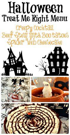 A fun Halloween menu! (Recipes included)