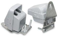 PVC Entrance Caps for Small SEU (Set of 2)