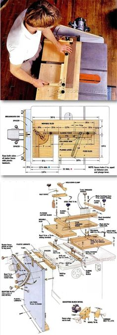 DIY Mortise and Tenon Jig - Joinery Tips, Jigs and Techniques | WoodArchivist.com #WoodworkingTools