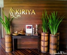 spa-kiriya design interior thai BEST SPA's and Thai Massage in Bangkok - Nomadic Chica Spa Interior Design, Japanese Interior Design, Design Salon, Spa Design, Massage Room Design, Massage Room Decor, Spa Room Decor, Thai Decor, Asian Decor