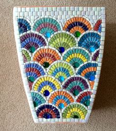 Mosaic Planters, Mosaic Vase, Mosaic Flower Pots, Ceramic Flower Pots, Pebble Mosaic, Mirror Mosaic, Mosaic Tiles, Mosaic Crafts, Mosaic Projects