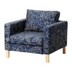 Ikea Karlstad Chair Slipcover Bladaker Blue, Beige Chair Cover-402.290.53 Ikea Slipcover for Karlstad Armchair http://www.amazon.com/dp/B00J6T27ZM/ref=cm_sw_r_pi_dp_Tejnvb0SQ2ATF