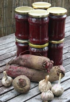 Beet Recipes, Polish Recipes, Canning Recipes, Healthy Recipes, Polish Food, Christmas Food Gifts, Veg Dishes, Meals In A Jar, Special Recipes