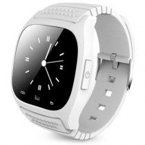 M26s Bluetooth 4.0 Smart Watch Bracelet Sleep Tracking (White)