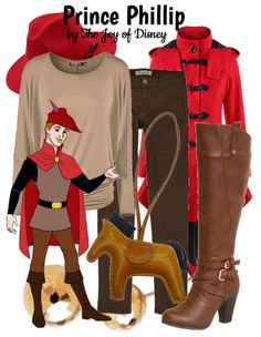 The Joy of Disney: {Sleeping Beauty}: Prince Phillip Sleeping Beauty Prince, Royal Blood, Disney Inspired Outfits, Disney Bounding, Disney Princes, Prince Phillip, Fandom Fashion, Disneybound, Walt Disney