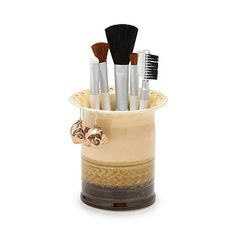 Look what I found at UncommonGoods: Porcelain Earring and Makeup Brush Holder for $39.99 #uncommongoods