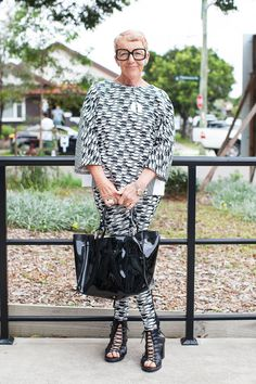 15 Street-Style Snaps From Down Under #refinery29  http://www.refinery29.com/australian-fashion-week-pictures#slide11  You better believe we're going to strive to look like this when we grow up.Similar finds: