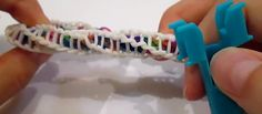 The Mini Rainbow Loom® Monster Tail Loom® Spirilla Spiral Bracelet