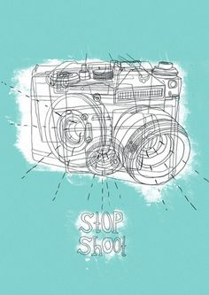 Stop Shoot print @ Urban Outfitters